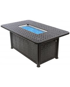 """OUTDOOR PATIO 36"""" x 58"""" rectange Fire pit - Series 7000"""