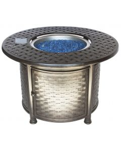 """OUTDOOR PATIO 42"""" Round Dining Fire Table - Series 7000"""