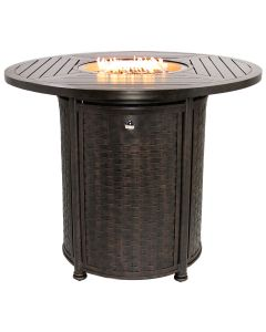 "OUTDOOR PATIO 50"" Round Bar Height Fire Table - Series 4000"