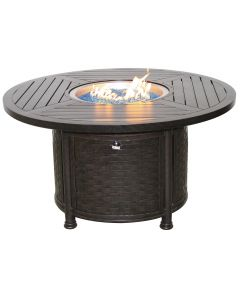 "OUTDOOR PATIO 50"" Round Dining Fire Table - Series 4000"