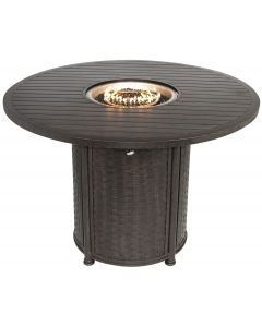 "OUTDOOR PATIO 60"" Round Bar Height Fire Table - Series 4000"