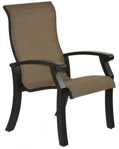Barbados Sling Dining chair - Antique Bronze